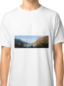 Saint Mary Lake and Wild Goose Island Classic T-Shirt