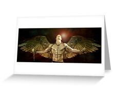 mike angel  Greeting Card