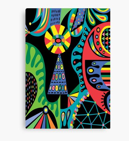 Mojo black Canvas Print