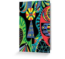 Mojo black Greeting Card