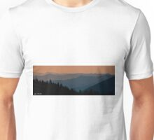 Sunset Over the Cascade Range Unisex T-Shirt