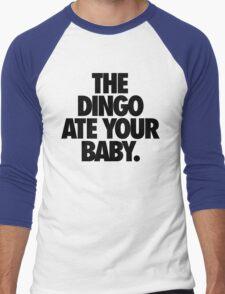 THE DINGO ATE YOUR BABY. Men's Baseball ¾ T-Shirt