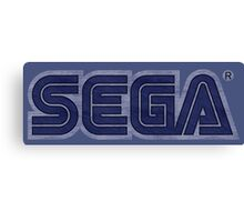 °GEEK° Sega Denim LOGO Canvas Print