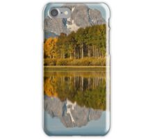 Mount Moran and Fall Colors Reflected in the Snake River iPhone Case/Skin