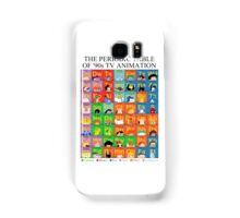 The Periodic Table of 90s TV animation Samsung Galaxy Case/Skin