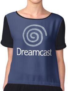°GEEK° Dreamcast Denim LOGO Chiffon Top