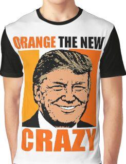 ORANGE THE NEW CRAZY Graphic T-Shirt