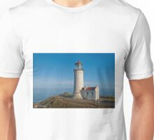 North Head Lighthouse Overlooking the Pacific Ocean Unisex T-Shirt
