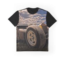 Lowbrow Rat Rod - How Low Can U Go Babe Graphic T-Shirt