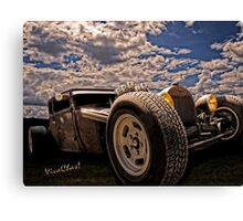 Lowbrow Rat Rod - How Low Can U Go Babe Canvas Print