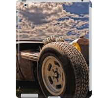 Lowbrow Rat Rod - How Low Can U Go Babe iPad Case/Skin