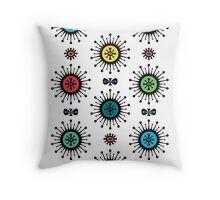 Retro Starlight Throw Pillow