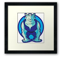 Cartoon Goblin Framed Print