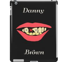 Danny Brown's Crooked Smile iPad Case/Skin