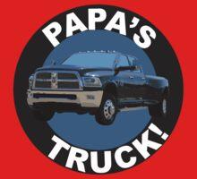 Papa's Truck 02 One Piece - Long Sleeve