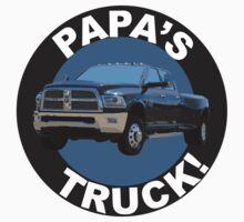 Papa's Truck 02 One Piece - Short Sleeve