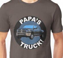 Papa's Truck 02 Unisex T-Shirt
