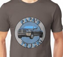 Papa's Truck 01 Unisex T-Shirt