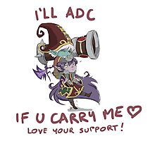 adc e support <3 Photographic Print