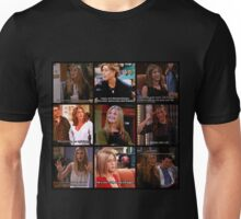 Rachel Green Quotes Collage Unisex T-Shirt