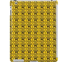 pc master race sheets iPad Case/Skin