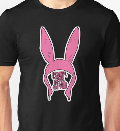Louise Belcher: I Smell Fear On You  Unisex T-Shirt