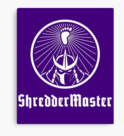 ShredderMaster footclan Canvas Print