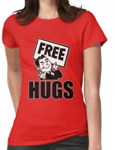 Free Hugs! Womens Fitted T-Shirt