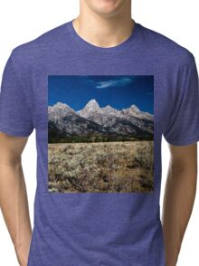Grand Tetons Tri-blend T-Shirt