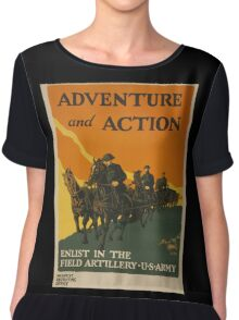 Adventure and Action (Reproduction) Chiffon Top