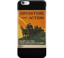 Adventure and Action (Reproduction) iPhone Case/Skin