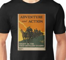 Adventure and Action (Reproduction) Unisex T-Shirt