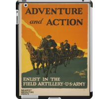 Adventure and Action (Reproduction) iPad Case/Skin