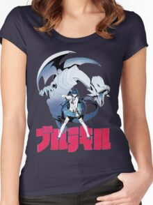 Satsuki Kaiba Women's Fitted Scoop T-Shirt