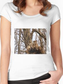 Meditative Momma ♥ Women's Fitted Scoop T-Shirt