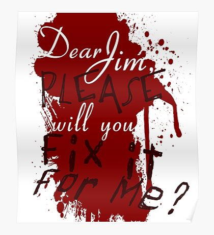 Dear Jim, Fix It For Me Poster