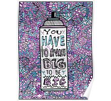 Hairspray Dream Zentangle Poster