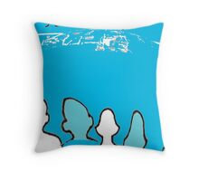 World Family Oceanic Paper Cutouts  Throw Pillow
