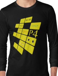 We See The Truth - Angled TVs Long Sleeve T-Shirt