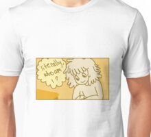 literally who am i? Unisex T-Shirt
