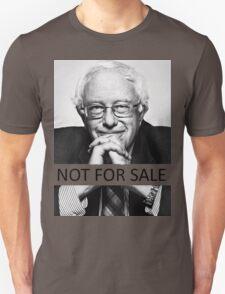 """Bernie Sanders - """"Not for Sale"""" Unisex T-Shirt"""