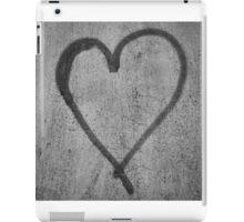 Graffiti heart iPad Case/Skin