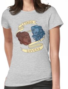 Lesbian Lovers Womens Fitted T-Shirt