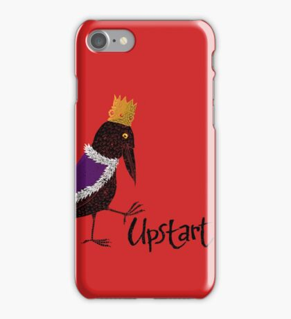 Upstart Crow iPhone Case/Skin