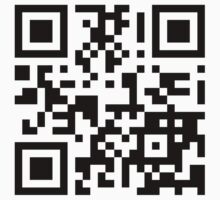 Keep mobile devices away in a QR Code (Black) One Piece - Long Sleeve