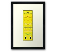 We See The Truth Framed Print