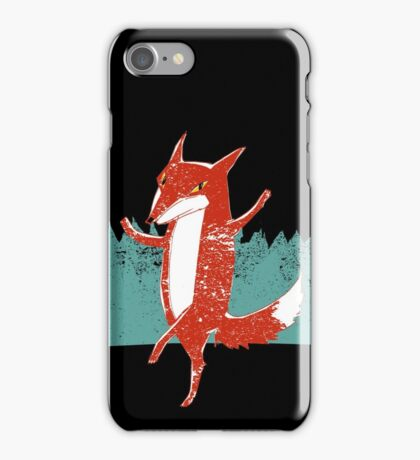 Fox dance  iPhone Case/Skin
