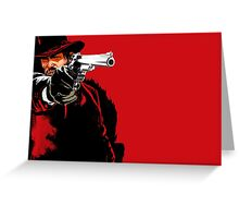 Red Dead Redemption #1 Greeting Card