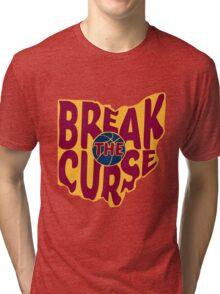 Break The Cleveland Curse Tri-blend T-Shirt