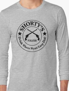 Shorty's Saloon from Wynonna Earp Long Sleeve T-Shirt